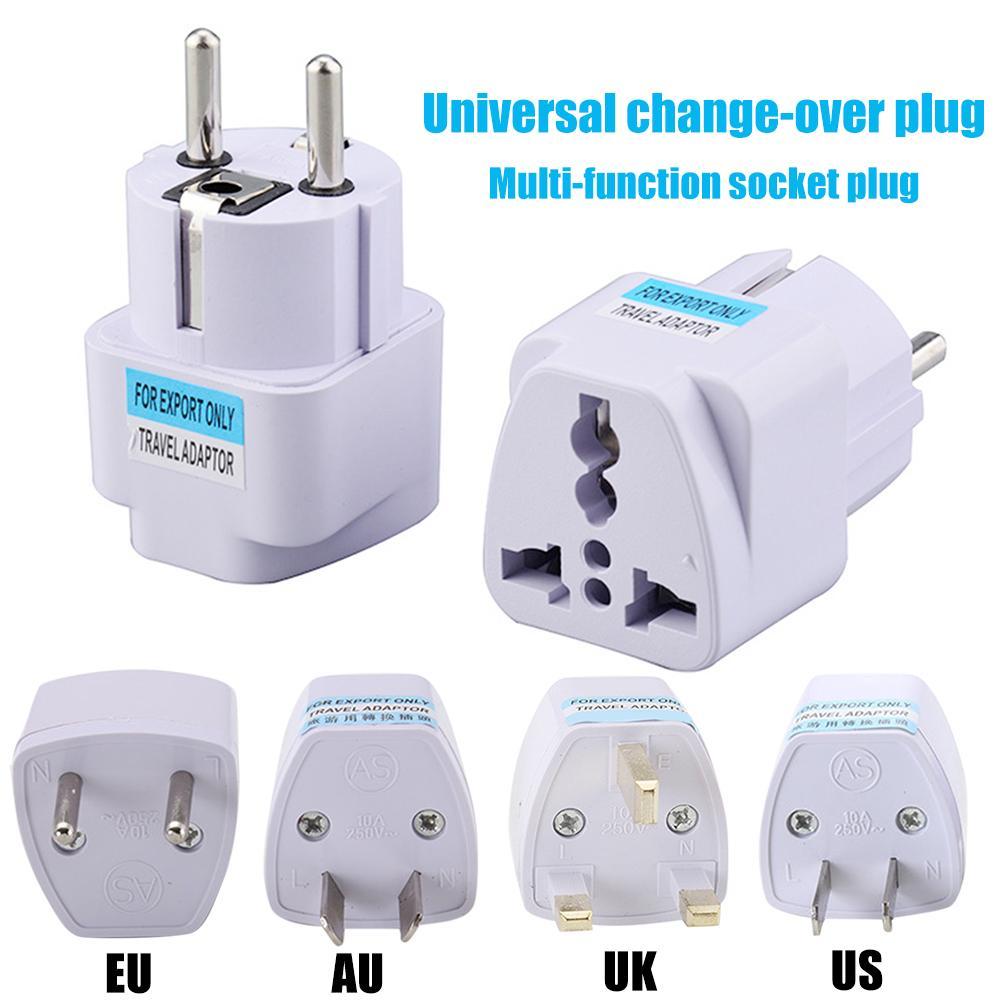 EU/AU/UK/US/IT/GER Universal Multifunctional Charging Socket Wall Plug Adapter