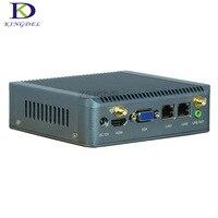 Không quạt nhỏ PC nano công nghiệp itx PCs Intel Quad Core J1900 với hỗ trợ Wake on LAN PXE Cơ Quan Giám Sát 3 Gam GPIO 4 GB RAM 64 GB SSD