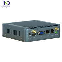 Fanless Mini PC Nano Itx Industrial PCs Intel Quad Core J1900 With Support Wake On LAN