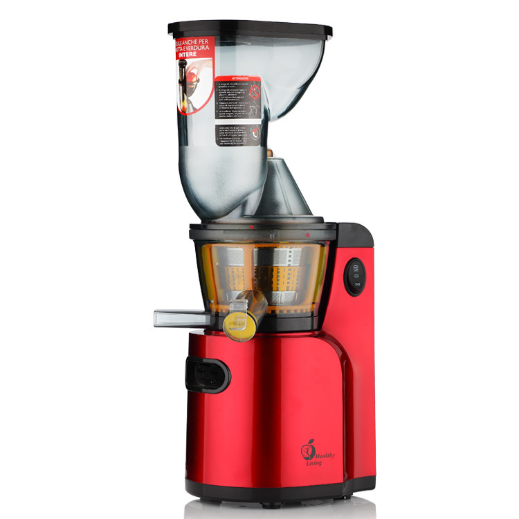 Large Wide Feed Port Juice Machine Whole Fruit Juicing Juice Extractor Slowly Speed Electric Juicer For