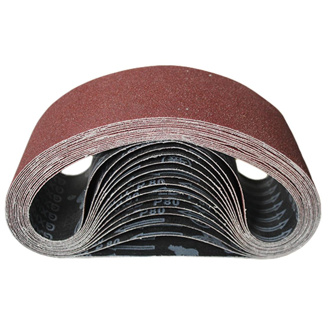 60-600 Grits Sandpaper Abrasive Bands Sanding Belts For Sander Power Rotary Tools Dremel Accessories Abrasive Tool