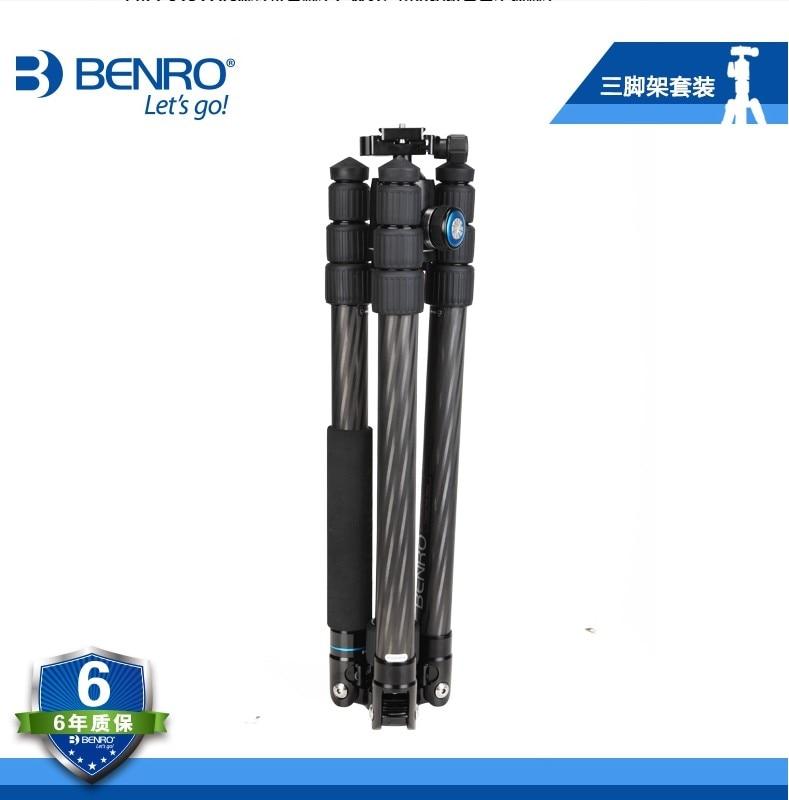 BENRO C3282TV3 trépied en fibre de carbone professionnel trépied appareil photo reflex monopode-in Trépieds from Electronique    3