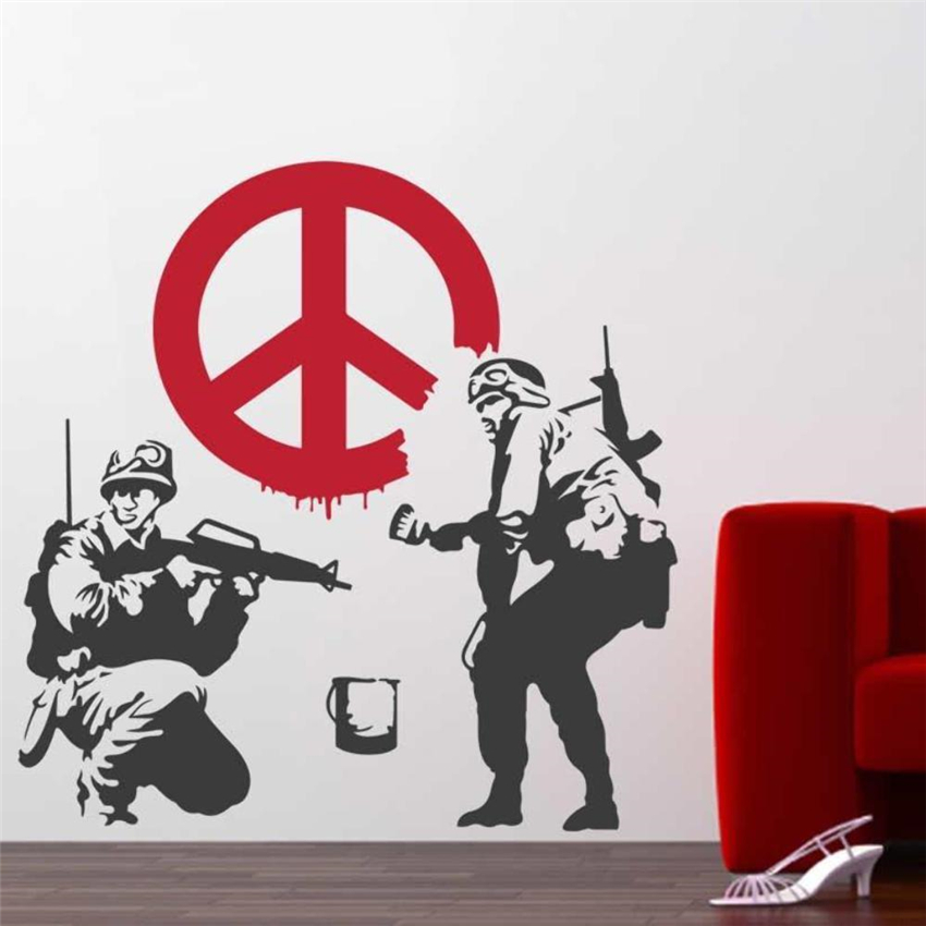 Wall Decal Vinyl Sticker Soldier Home Art Deco Poster