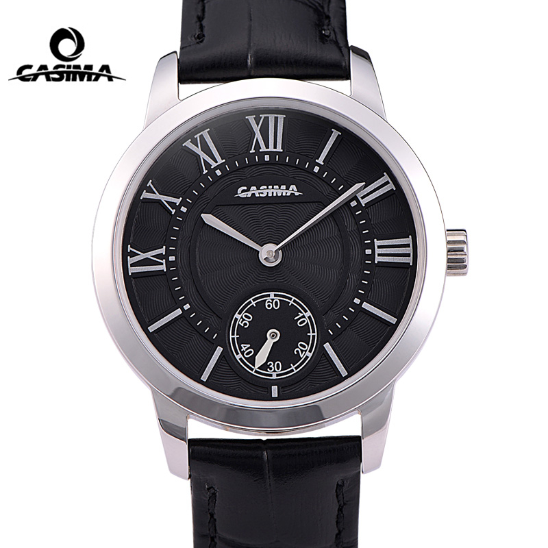 все цены на Women Watches Top Brand Luxury Ladies Quartz Wrist Watch Womens Leather Bracelet Clock Waterproof 50m Relojes Mujer CASIMA#2605 онлайн