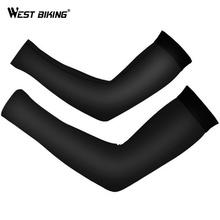 WEST BIKING Cycling Arm Sleeves Quick Dry Sun Protection Breathable Elbow Arm Cover Hiking Sports Safety Men Women Arm Warmers