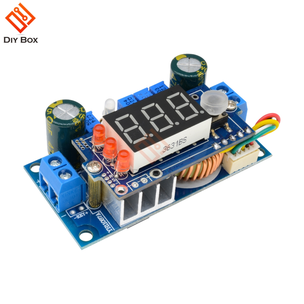5A MPPT Solar Controller DC-DC Schritt-down Modul Digitale CC/CV Batterie Lade