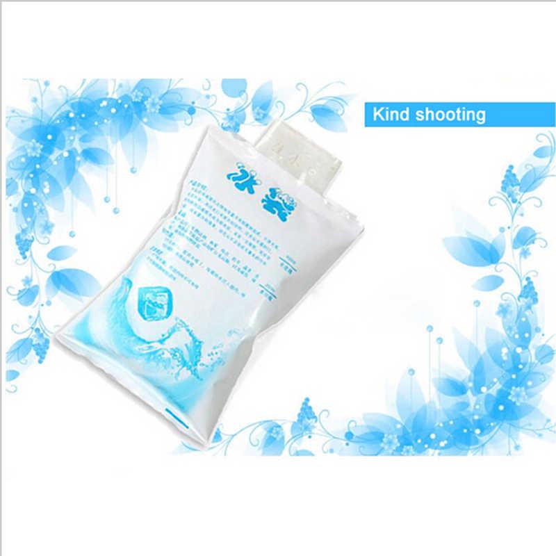 Varejo & atacado 400 ml isolado em-personalizado ice pack gel reutilizável seco e frio saco térmico para alimentos caixa de almoço latas de vinho médica