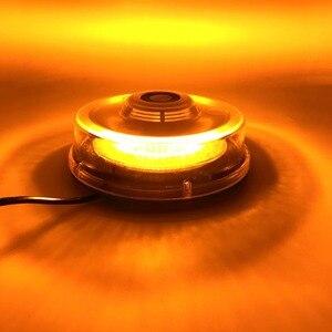 Image 5 - Bernstein LED Strobe Licht Leuchtfeuer Fahrzeug Auto Dach Top Gefahr Warnung Flash Notfall Lichter Rotierenden Blinkt Sicherheit Signal lampe
