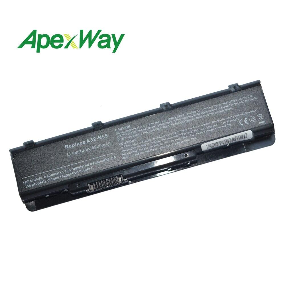 6 Cellen A32-n55 Laptop Batterij Voor Asus N45sv N55 N55e N55s N55sf N55sl N75 N75e N75s N75sf N75sj N75sl N75sn N45j N45jc N45sf Klanten Eerst