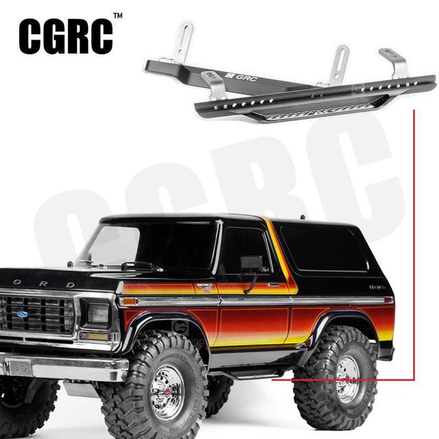 e73684e84bf Universal Metal Side Bumper Pedal For 1 10 RC Crawler Car Traxxas TRX4  Defender Ford Bronco Ranger TACTICAL UNIT  8219