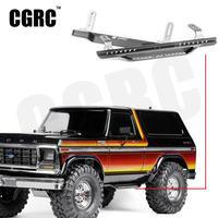 Universal Metal Side Bumper Pedal For 1/10 RC Crawler Car Traxxas TRX4 Defender Ford Bronco Ranger TACTICAL UNIT #8219