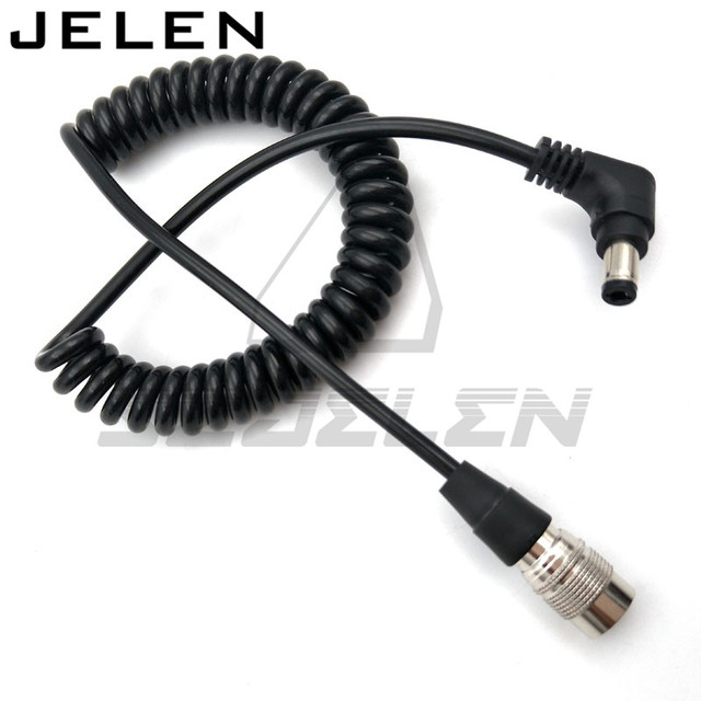 DC5.5/2.5 A Hirose pin Maschio Plug Power Cavo A Spirale Per Dispositivi Audio Zaxcomn F8