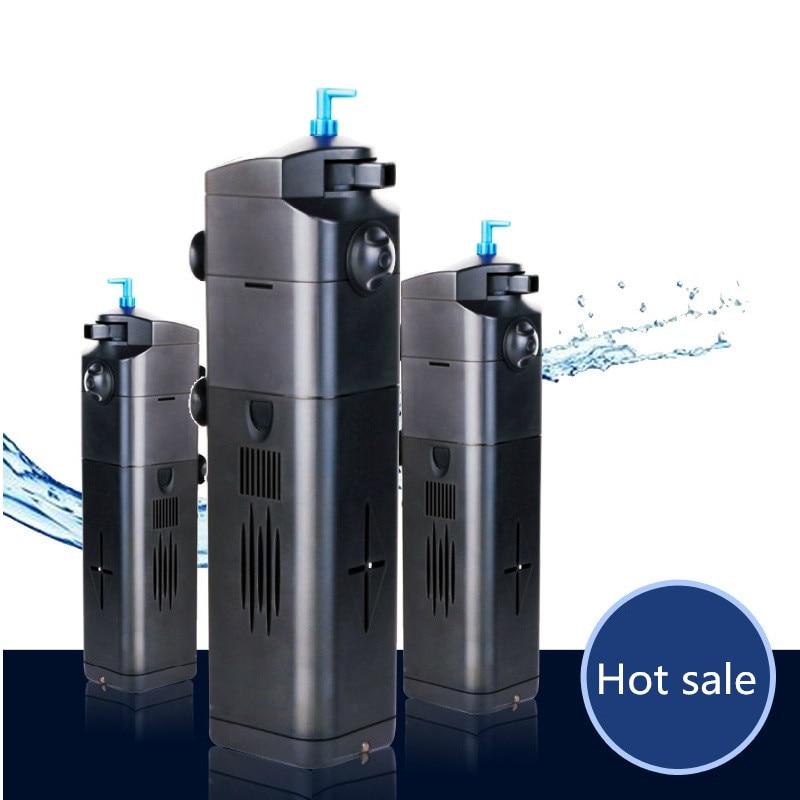 SUNSUN aquarium built in filter three in one fish tank filter multi function circulation filter pump
