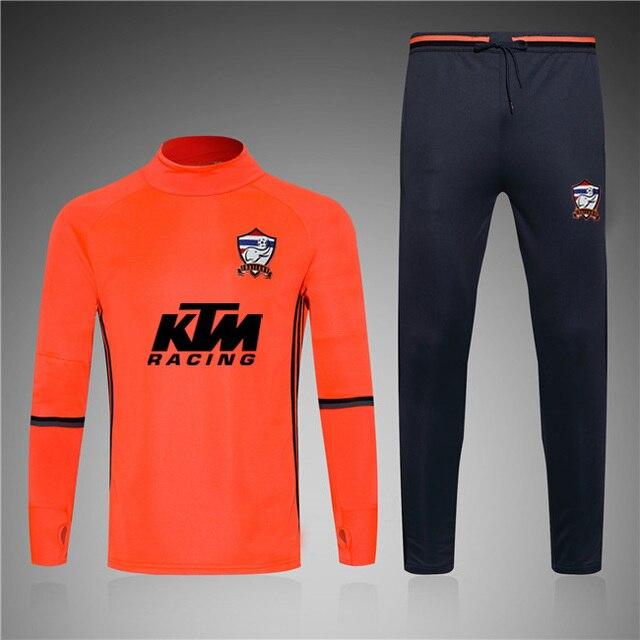 a95b7df6afcb1 MAR PLANETSP 2017 naranja traje de entrenamiento de fútbol chándal 2016  survetement fútbol chándal jogging pantalones