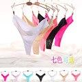 2015 Europa e América mulheres calcinhas lingerie sem costura tanga das mulheres sexy amor rosa thong briefs das mulheres S/M/L