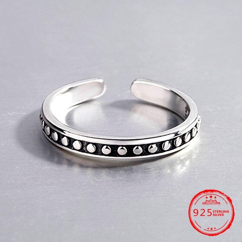 Argent 925 Bijoux Fashion Simple Saphir Tempérament Perle Bracelet Femme