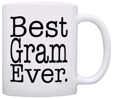 Best gram ever mug 350ml coffee creative ceramic mugs cup office tea best goft for your
