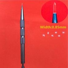 лучшая цена 1pcs 0.85mm 60 degree Sapphire Hair Transplant Knife hair follicle planting pen