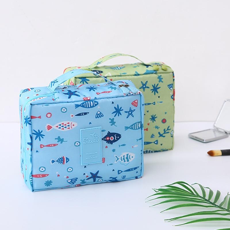 New Women Neceser Women Makeup Bags Organizer Toiletries Waterproof Female Storage Make Up Cases Travel Cosmetic Bag 30