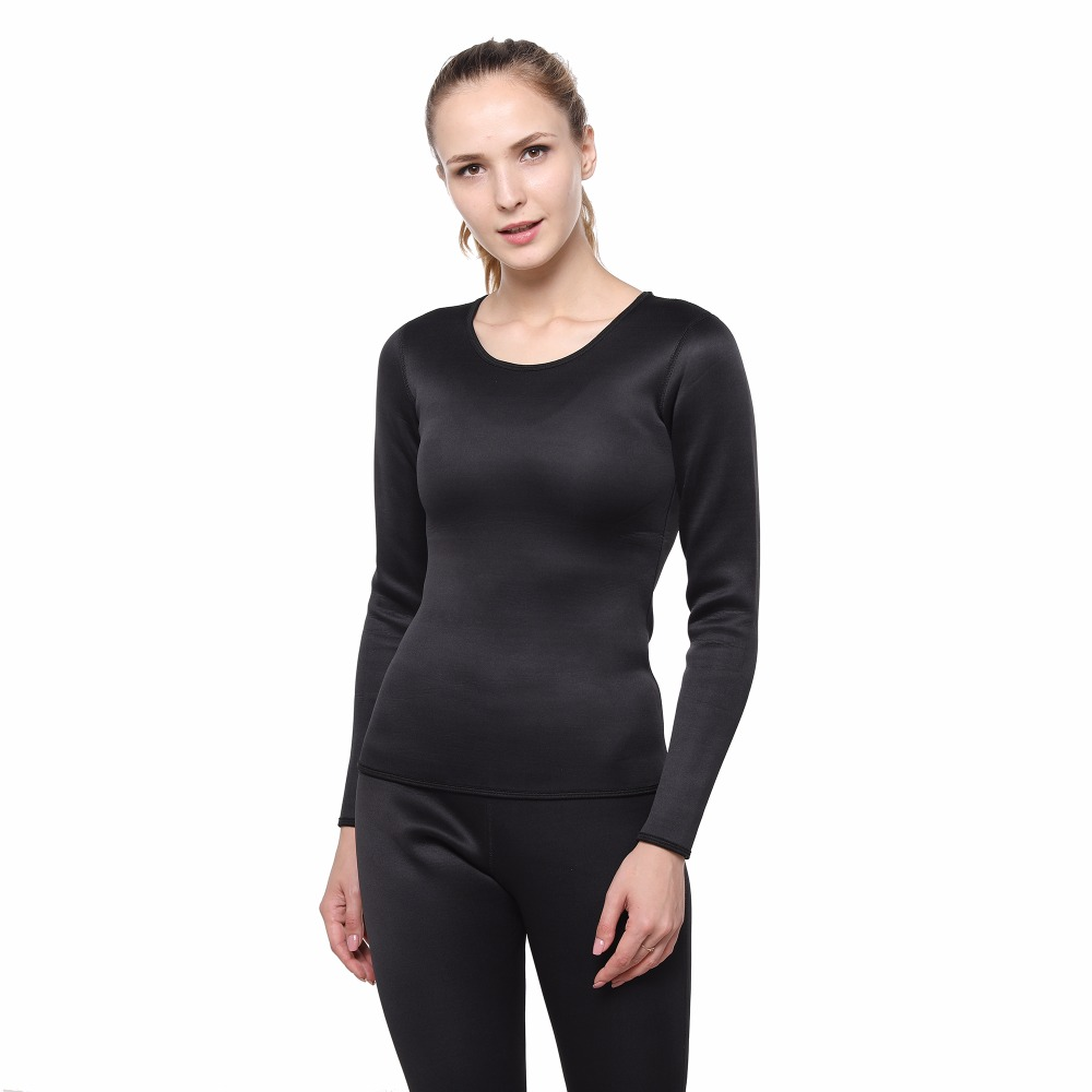 2018 Womens Thermal Underwear Women Winter Quick Dry Anti Microbial Stretch Thermo