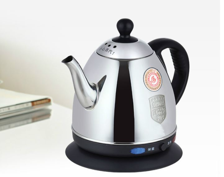 Food grade 304 stainless steel electric kettle water - heated Anti-dry Protection