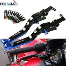 For TRIUMPH TIGER 800 XC/XCX/XR/XRX 2011-2018 CNC Aluminum Motorcycle Brake Clutch Levers Foldable Extendable Adjustable стоимость