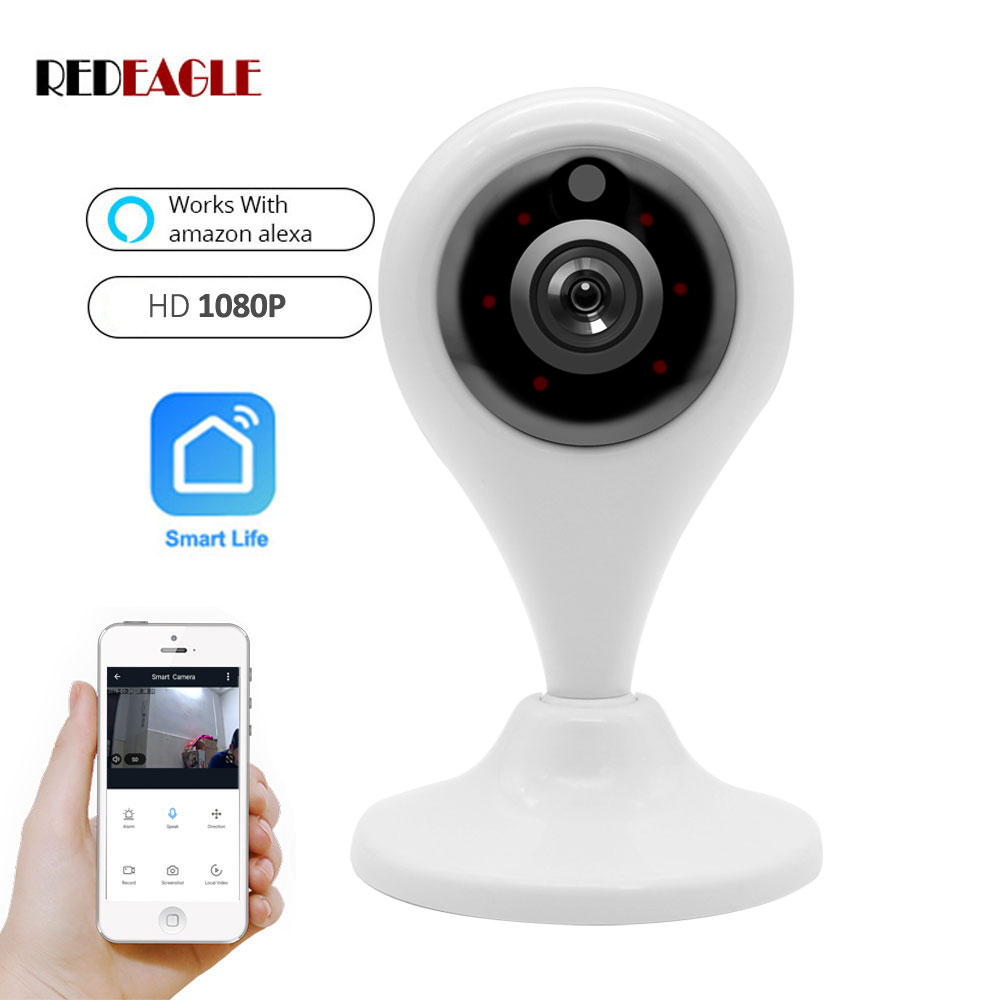 2.0MP 1080P Wireless WiFi Camera IP Network Infrared Security Camera Two Way Audio Workes with Alexa Echo Google Home2.0MP 1080P Wireless WiFi Camera IP Network Infrared Security Camera Two Way Audio Workes with Alexa Echo Google Home
