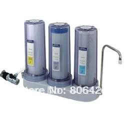 Прямые drinking3 этапов фильтр для воды/очиститель водопроводной воды/Кухня очистки воды/регистрации вода pure + Универсальный коснитесь шланг