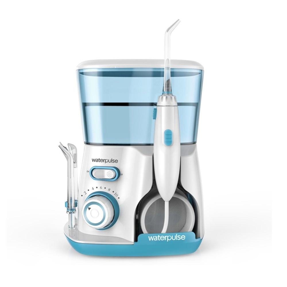 Waterpulse V300G 240 В 100 в ирригатор для полости рта струя воды pick зубная нить Flosser гидро набор 800 мл ёмкость очиститель зубов