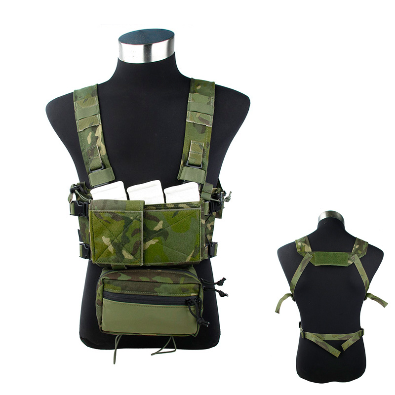 2f3219da0367a 2019 TMC3115-MTP light tactical vest SS chest rig Multicam Tropic sets 500D  nylon quick