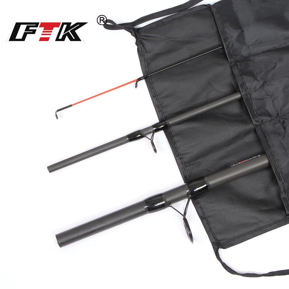 Canne à pêche FTK 99% canne d'alimentation en carbone 3SEC C.W 40-120G 3.3 M 3.6 M 3.9 M Standard appâtcasting leurre bâton de pêche attirail de pêche G0D - 6