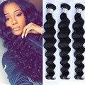 8A Top Brazilian Virgin Hair Loose Wave Human Hair Weave Unprocessed Brazilian Hair Weave Bundles Loose Curly Weave Human Hair