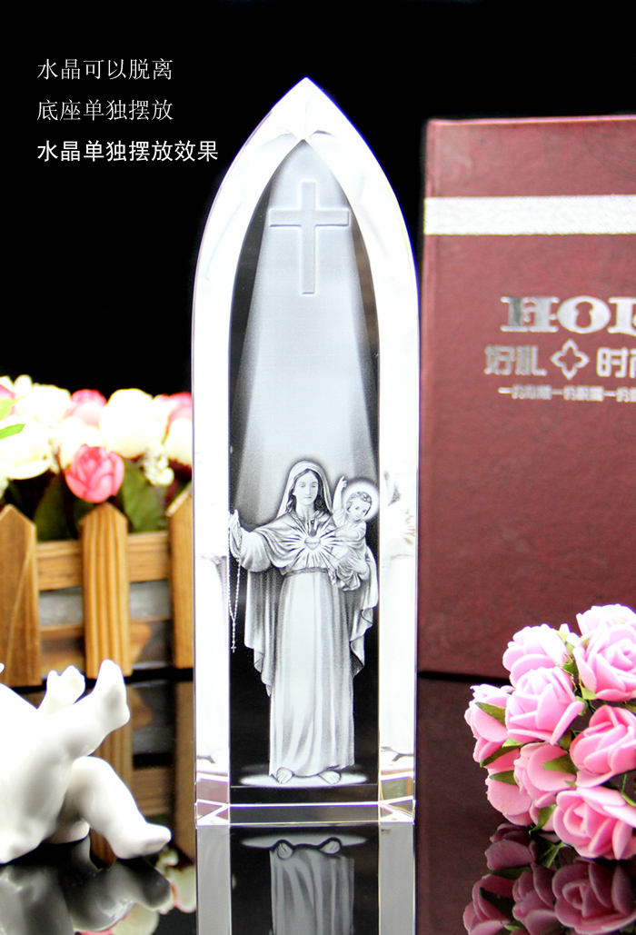 Special offer TOP Art Collectible collection Home Decor Decoration Religious 3D blessing the Madonna Virgin Mary