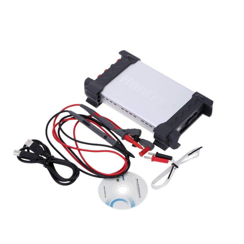 365A PC USB Digital Data Logger Recorder Multimeter Voltage Current Resistance Temperature Measurement hantek365b pc usb virtual multimeter usb data logger