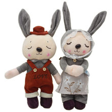 e8b7d56d5cf 35cm Metoo Bunny Rabbit Plush Toys Lovely Bunny Couple Rabbit Plush Soft  Stuffed Animals Toys Doll for Wedding Girls Xmas Gifts