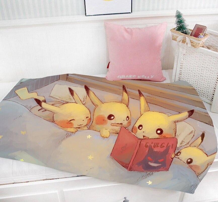 Anime Date a live tokisaki kurumi  Blanket Flannel Throw Bedding Travel Gift