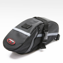 Outdoor Shell Rainproof Saddle Bag Reflective Bike Bag Shockproof Cycling Rear Seatpost Bicycle Bag MTB Bike Accessories