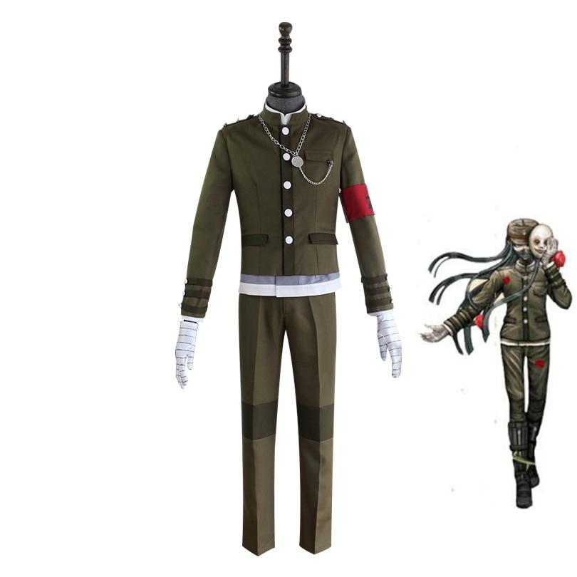 Danganronpa V3 Korekiyo Shinguji Cosplay Kostuum Uniform Halloween - Carnavalskostuums - Foto 1