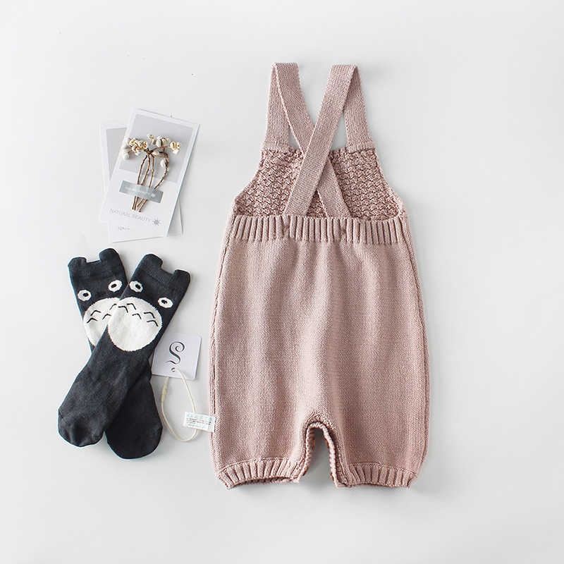 470d2f06cfee ... New 2019 Newborn Knitted Romper Baby Boys Girls Knitting Romper Baby  Girl Clothes Overalls Autumn Bubble ...