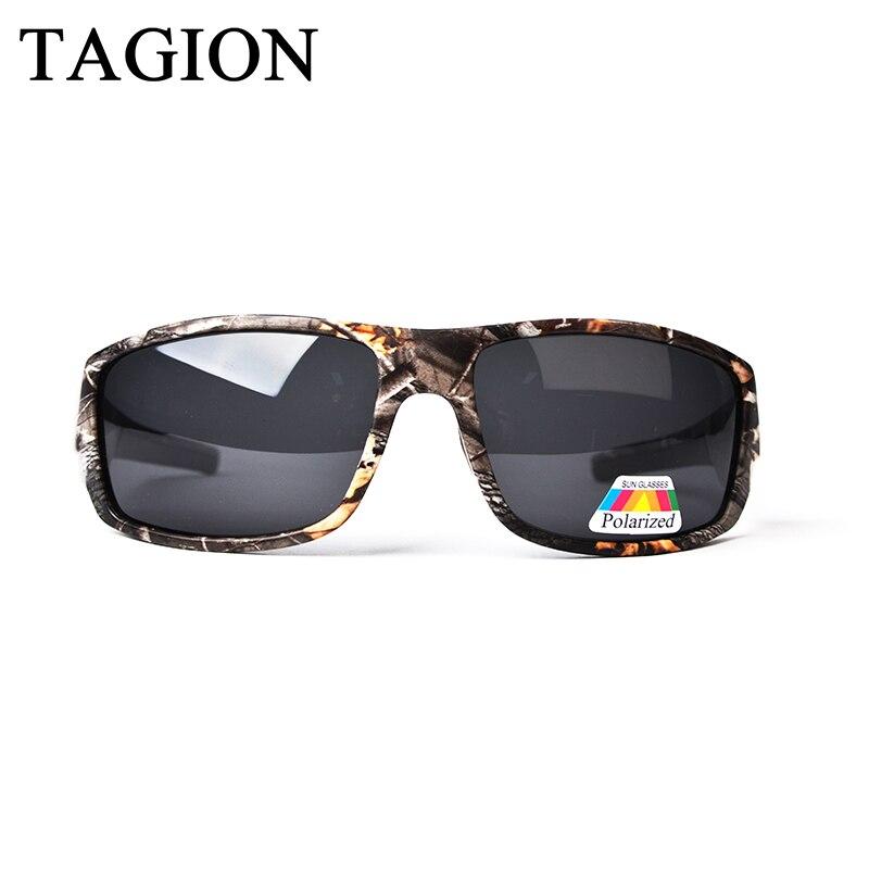 2018 TAGION Camuflagem Óculos Polarizados Para Homens óculos de Sol  Militares Ao Ar Livre Jogo de 0249465945