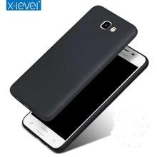 X-уровень Guardian Мягкий матовый TPU чехол для Samsung Galaxy J7 премьер G610F/J5 премьер G570F задняя крышка Для On5 On7 2016 силиконовый чехол