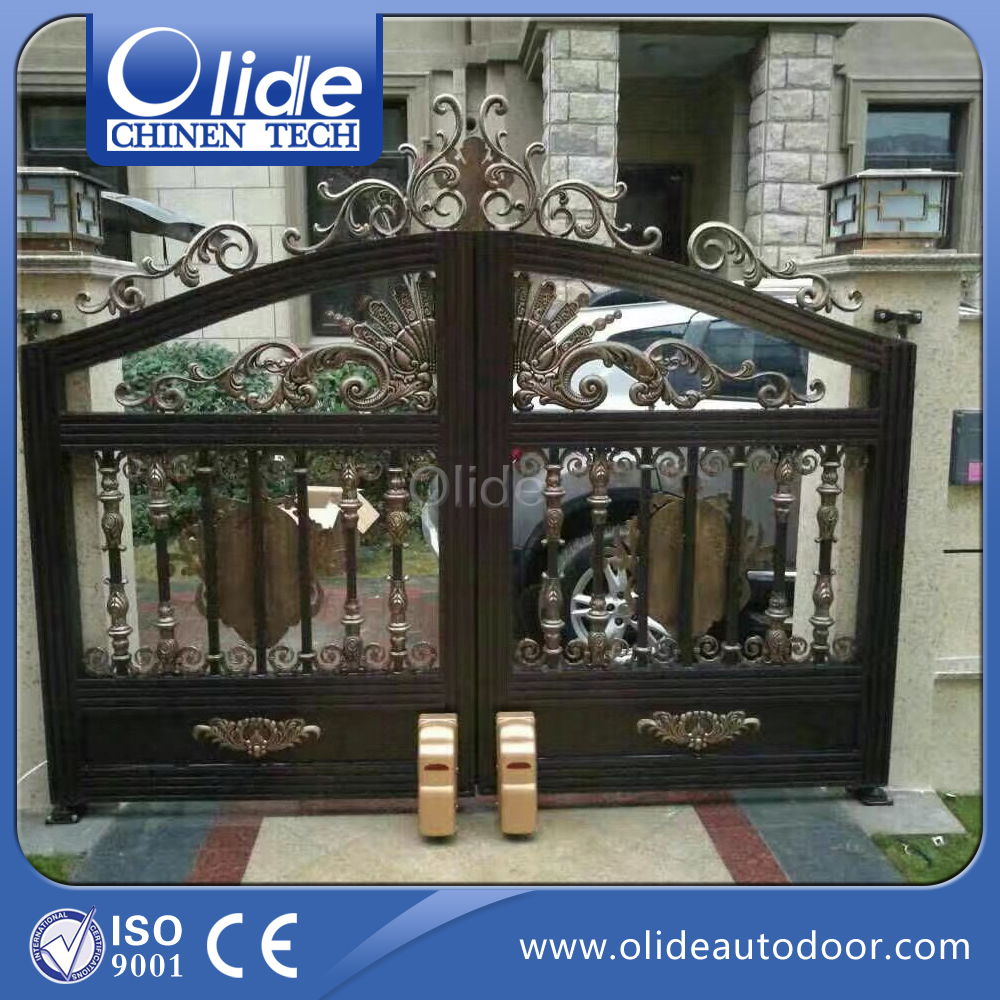 Automatic Swing Gate Opener Heavy Duty For Home Use, Electric Swing Gate Operator Wheel Type powerful swing door opener electric swing door operator