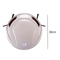 Intelligent Robot Vacuum Cleaner With 500PA Suction Dry And Wet Mopping