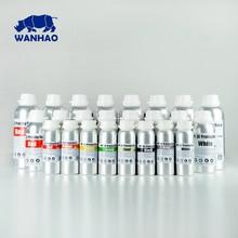 1 L Grau/Grau Hohe Qualität 405NM WANHAO LCD DLP SLA 3d drucker UV harz, kompatibel für D7/D7 Plus/D8