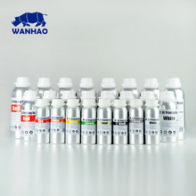 1 L Gray / Grey High Quality 405NM WANHAO LCD DLP SLA 3d printer UV resin , compatible for D7 / D7 Plus / D8