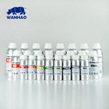 1 L Grigio/Grigio di Alta Qualità 405NM WANHAO LCD DLP SLA 3d stampante UV resina, compatibile per D7/D7 Plus/D8