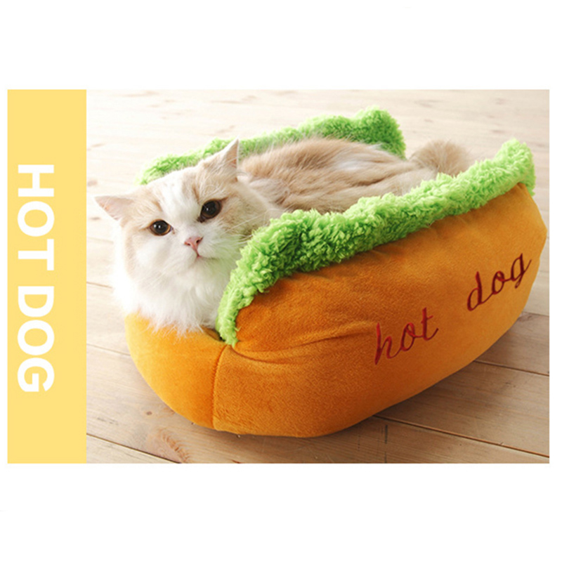 Aliexpress.com : Buy Funny Hot Dog Dog Bed Pet Cat Sofa Cushion Soft U0026 Cozy  Cat House Sleeping Bag Puppy Nest Kennel For Small Medium Pet Supplies From  ...