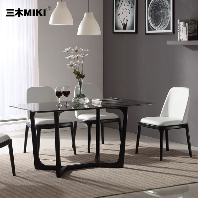 Miraculous Us 3598 0 Miki Ash Solid Wood Dining Table Dining Table Ikea Nordic Combination Of Modern Custom Marble Dinette In Dining Tables From Furniture On Download Free Architecture Designs Rallybritishbridgeorg