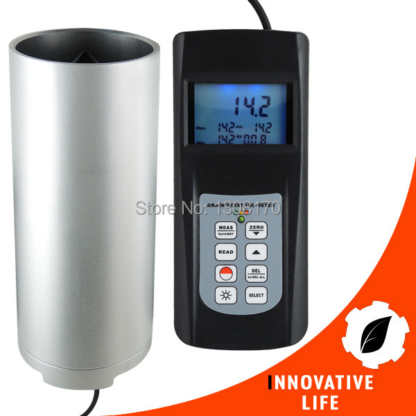 Digital Grain Seed Moisture Meter Checks 22 Species Rice Coffee Wheat Tester 50% LED Indicator seed dormancy and germination