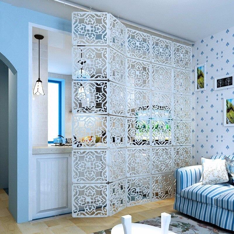 Wandschirm partition Einfache hängen bildschirm wohnzimmer Hohlen ...